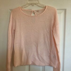 ballerina pink sweater